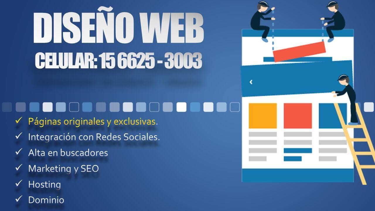 Diseño de Paginas Web - Autoadministrables - Landing Page 2021